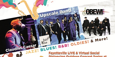 Fayetteville LIVE & Virtual Outdoor Concert Series tickets