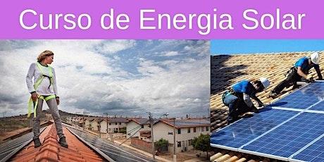 Curso de Energia Solar em Jaboatão dos Guararapes ingressos