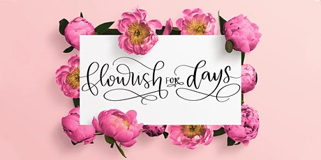 7/18 Beginner Calligraphy Part 2: Connections & Flourishing - Virtual Class tickets