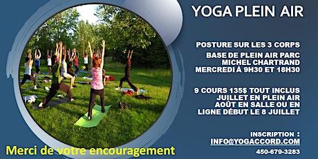 Yoga en plein air - Séance d'essai GRATUITE billets
