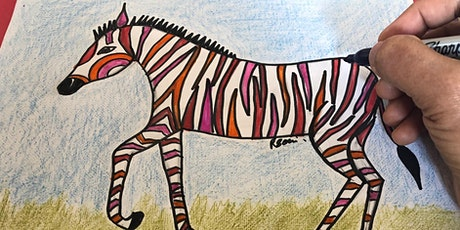 Drawing and Painting Online Art Workshop/Class for  Kids 5 and above tickets