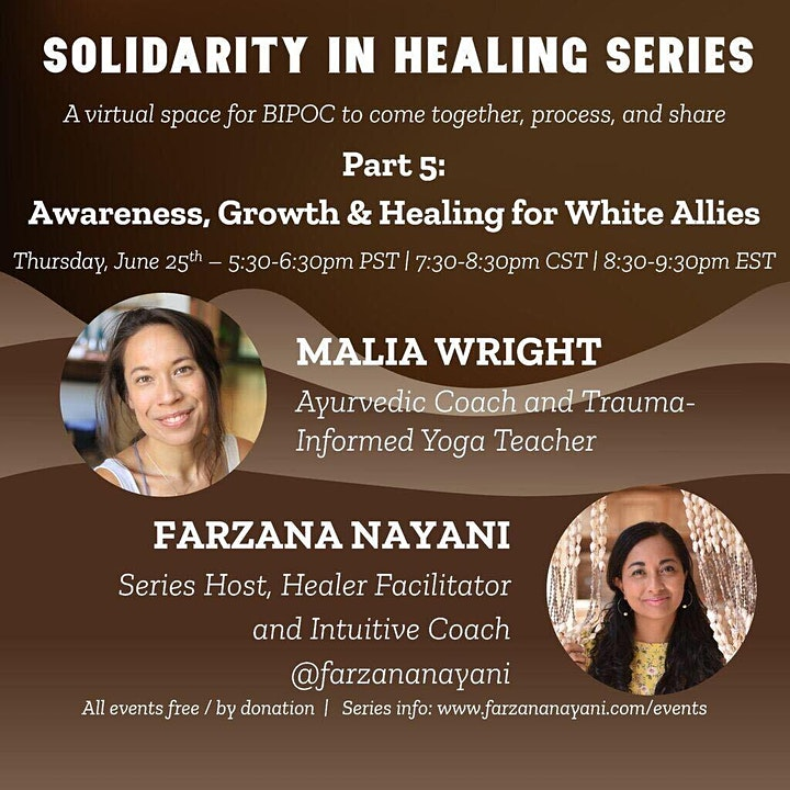 Awareness, Growth, and Healing for White Allies image