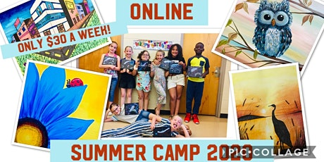 Summer  Art Camp and Classes Online tickets