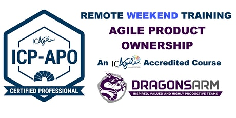 DragonsArm Remote ICAgile Product Ownership Course - Weekend Course tickets