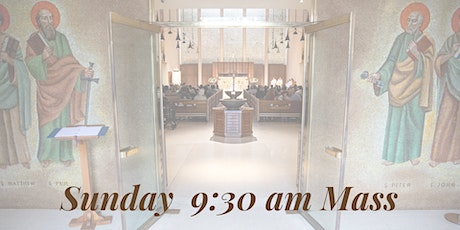 Sunday 9:30 AM Mass tickets