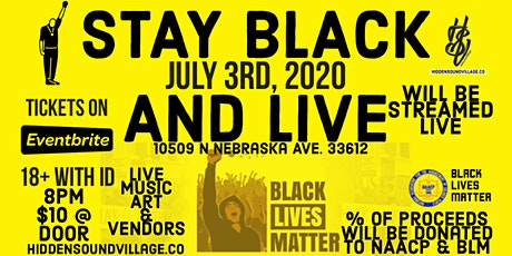 Stay Black & Live Unity Festival tickets