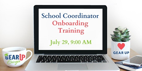 New School Coordinator Onboarding Training tickets