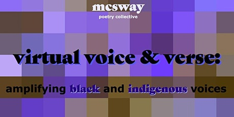 Virtual Voice & Verse: Amplifying Black & Indigenous Voices tickets