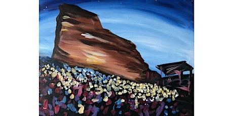 """""""Red Rocks"""" - Saturday, July 25, 7:00PM, $30 tickets"""