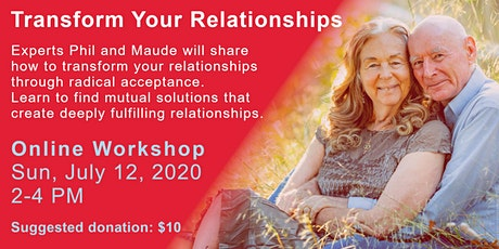 Transform Your Relationships tickets