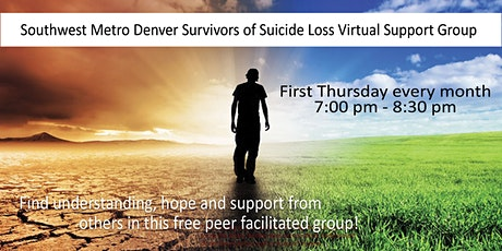 Online Support Group - Adult Suicide Loss Survivors tickets