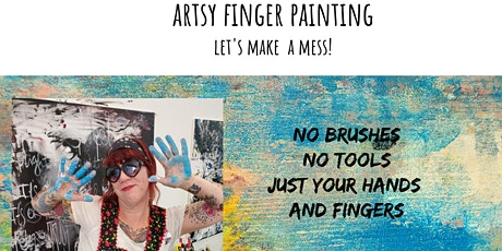Artsy Finger Painting with Pamela Sue Johnson tickets