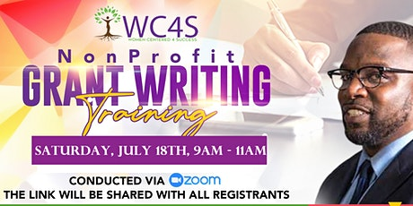 Virtual Grant Writing Training hosted by Women Centered 4 Success tickets