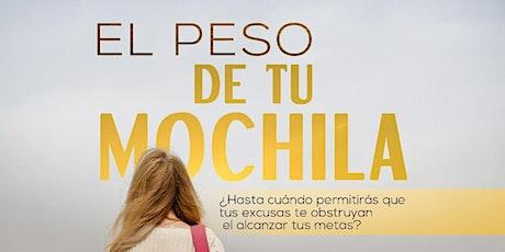 PRESENTACION DEL LIBRO EL PESO DE TU MOCHILA tickets
