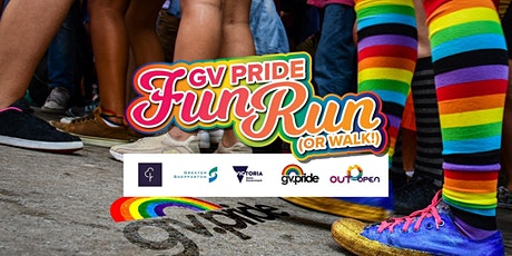 GV Pride Fun Run/Walk - Sun 1 Nov tickets