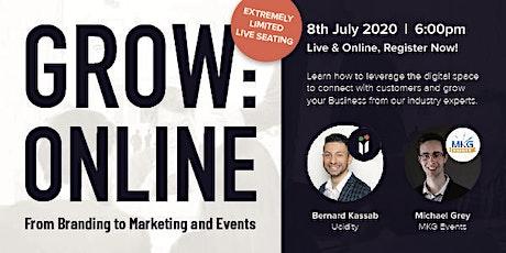 GROW Online tickets