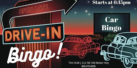 Drive In Car BINGO at The HUB tickets
