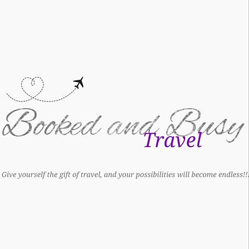 Booked and Busy Travel logo