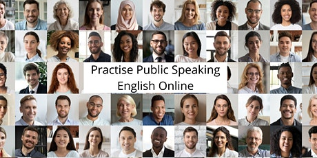 Practise Public Speaking English Online - 1hr Training Session tickets