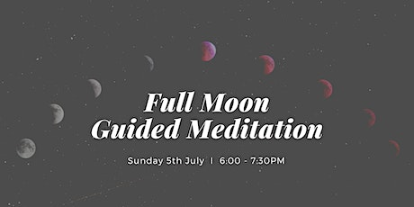 Full Moon Guided Meditation,  West End Sunday 5th July tickets
