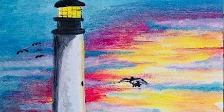 Paint Night in Bondi --  Lighthouse tickets