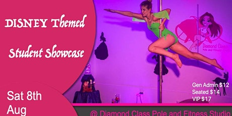 The Disney Themed-  Diamond Class Student Pole Dance Showcase - Hobart tickets