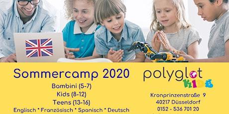 Code+English für Kids Sommerferien 2020 Tickets