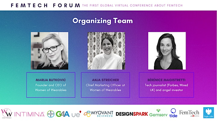 FEMTECH FORUM 2020 - the first global virtual conference about FemTech image