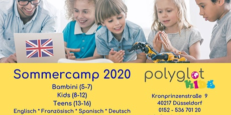 Theater+English für Kids Sommerferien 2020 (3. Ferienwoche) Tickets