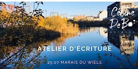 Atelier d'écriture mobile - Marais du Wiels billets
