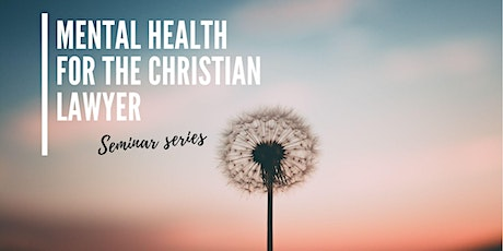 Mental Health Series: Anxiety and Answers: Biblical wisdom tickets