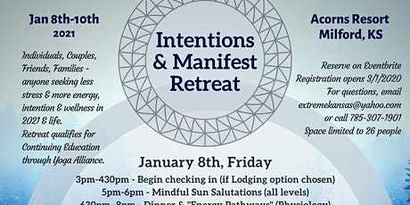 Intentions and Manifest Retreat tickets
