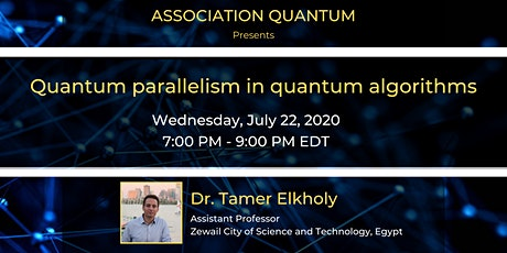 Quantum parallelism in quantum algorithms tickets