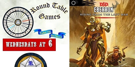D&D 5th Edition Eberron Wednesdays with Round Table Games tickets