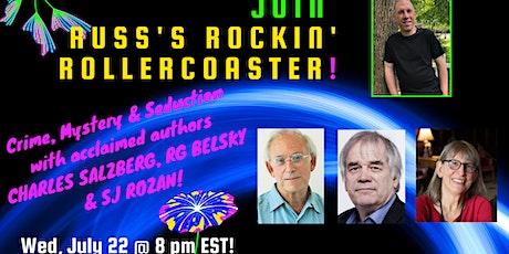 Russ Colchamiro interviews mystery authors C Salzberg, RG Belsky, SJ Rozan tickets