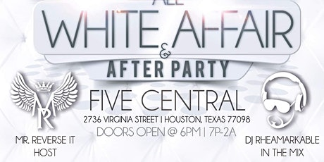 Mr. Reverse It 49th BDay 'All White Affair' Poetry tickets