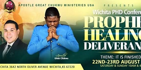 Wichita Prophetic Healing & Deliverance tickets