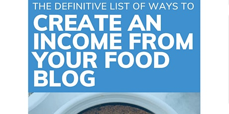 The definitive list of ways to create an income from your food Podcast Work tickets