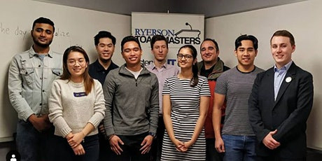 The Ryerson Toastmasters: Weekly Membership Meeting - VIRTUAL tickets