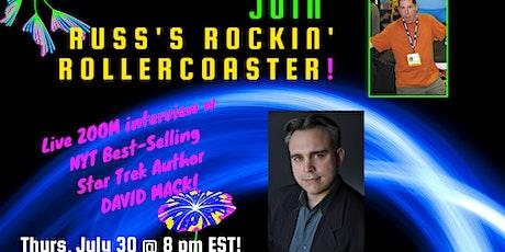 Russ Colchamiro interviews NYT Best-Selling Star Trek Author David Mack tickets