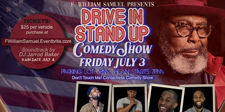 F. William Samuel presents Drive-In/Stand-Up Show tickets