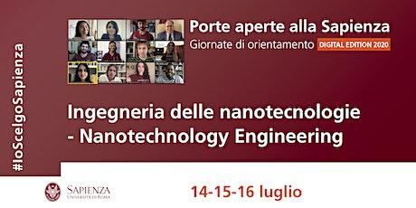 Ingegneria delle Nanotecnologie - Laurea magistrale biglietti