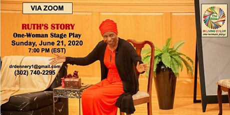 Ruth: One-Woman Stage Play tickets