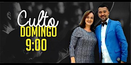 Culto Domingo (05/07) - 09:00 ingressos