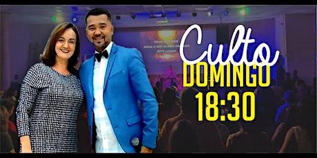 Culto Domingo (05/07) - 18:30 ingressos