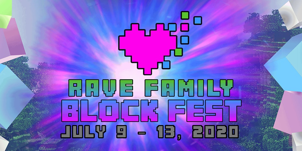 Rave Family Block Fest Minecraft Event