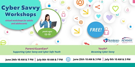 Parent Workshops: Supporting Cyber Savvy and Cyber Safe Youth tickets