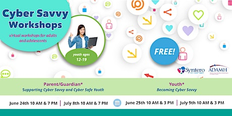 Youth Workshops: Becoming Cyber Savvy tickets