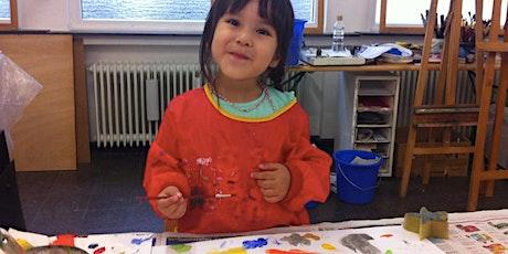 Kreatives Malen für Kinder ab 5 Jahren Tickets