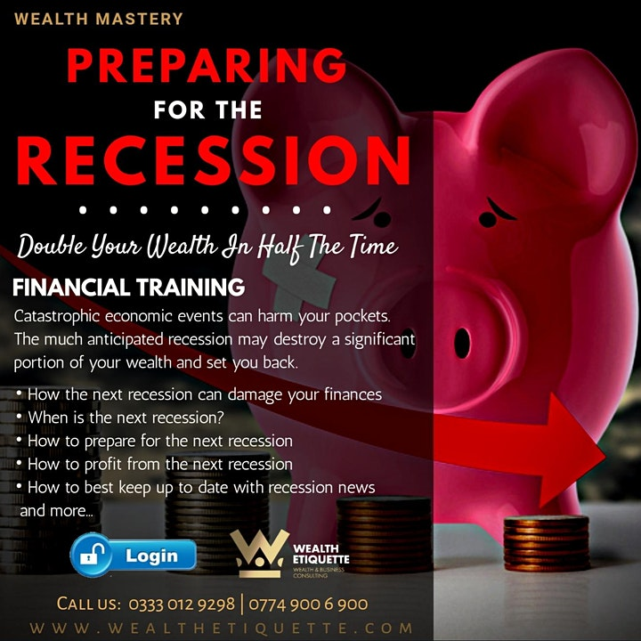 Recession: Preparing and Profiting From a Financial Crisis image